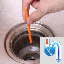 12 sztuk Sani kije rurociągu Środek czyszczący do WC wanna odkażanie pręt do czyszczenia kanalizacji i dezodorujący do szycia ak