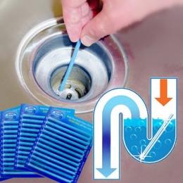 12/zestaw Sani Sticks oleju odkażanie kuchnia toaleta wanna spustowy V Clean SPOT pręt do czyszczenia wygodne do kanalizacji wło