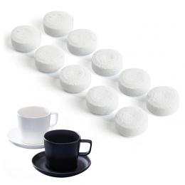 10 sztuk/paczka akcesoria kuchenne do czyszczenia ekspres do kawy Espresso maszyna do czyszczenia miejsce do czyszczenia Tablet