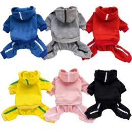 Wiosna Pet ubrania dla psów dla psów ubrania dla psów kombinezony kombinezon dla zwierząt domowych Puppy Cat odzież dla psa płas