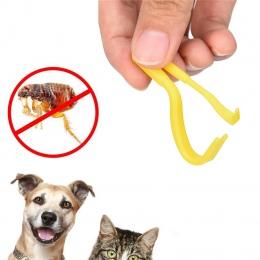 2 sztuk zaznaczyć Twister narzędzie hak kleszcza do usuwania akcesoria dla psów z 2 rozmiary człowieka instrukcja Debulking pchl