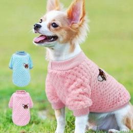Urocze ubranka dla psa dla małe pieski chihuahua yorki mops ubrania płaszcz zimowy odzież dla psów zwierzęta kurtka dla szczenia