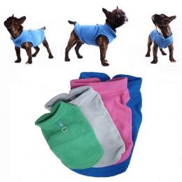 Zima polar ubrania dla zwierząt domowych dla psów odzież dla psów buldog francuski płaszcz mopsy kostiumy kurtka dla małe pieski