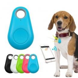 Zwierzęta domowe są inteligentny nadajnik GPS Mini Anti-Lost wodoodporny Bluetooth lokalizator Tracer dla zwierząt domowych pies