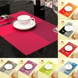 Nowa moda Pvc podkładka na stół w stylu europejskim narzędzie kuchenne stołowe Pad Coaster kawy i herbaty miejsce maty