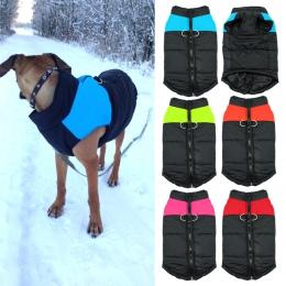 Wodoodporny zwierzę kamizelka dla szczeniaka kurtka Chihuahua odzież ciepłe zimowe ubrania dla psów płaszcz dla małych średnich