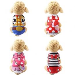 Tanie kamizelka letnie ubranie dla psa ubrania dla psów dla psów kot kamizelka koszula ubrania dla psów kostium średniej wielkoś