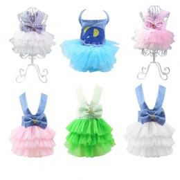 Hoomall Pet ubrania dla psów sukienka Sweety księżniczka sukienka maskotka dla psa suknie ślubne dla dla psów małych średnich ps