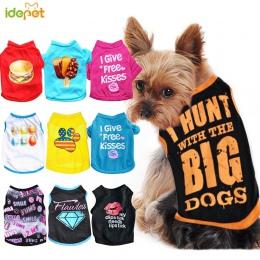 Letnie ubrania dla psów dla małych odzież dla psów ubrania dla zwierząt domowych dla psów kurtka odzież dla Chihuahua kostium pr