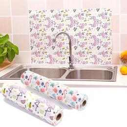 Szafki kuchenne Pad papieru szafka mata może Cut Cartoon zwierząt Flamingo szuflada półka Liner naklejki kuchenne