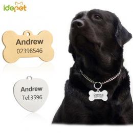 Dostosowane obroże dla psów i pasy bezpieczeństwa niestandardowy pies arkusz spersonalizowane kot psy Tag grawerowane obroża dla