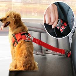 Obroże dla psów prowadzi pojazd samochodowy siedzenie dla psa pas dla zwierząt psy pasów bezpieczeństwa samochodów uprząż ze szn