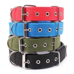 4.0*60 cm długość wygodne, regulowane, nylonowy pasek obroża dla małych i dużych zwierzęta domowe są obroże dla psów 4 kolor cze