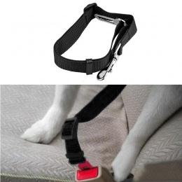 Przeniesienie obroże uprzęże prowadzi obroża dla psa fotelik samochodowy pas smycz dla psa szczeniak obroża z nylonu nowy Drop S