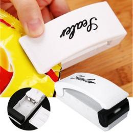 Przenośny klipsy do woreczków ręczne Mini elektryczne zgrzewarka zgrzewarka impulsowa uszczelka opakowanie plastikowa torba kuch