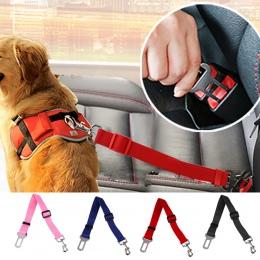 43-70 cm regulowany pies fotelik samochodowy pas pojazd pasów bezpieczeństwa uprząż ze sznura klip Pet akcesoria dla psów bezpie