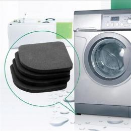 Pralka Anti-wibracje Pad Mat antypoślizgowe oddychające, podkładki maty lodówka 4 sztuk/zestaw kuchnia łazienka akcesoria łazien