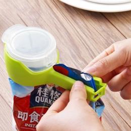 Nowa uszczelka wlać do przechowywania żywności klips do torebek przekąski zatrzask uszczelniający utrzymanie świeżego uszczelnia
