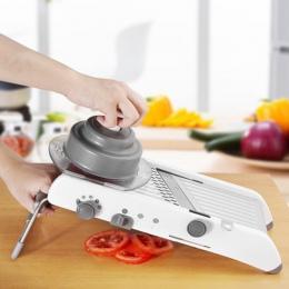 Instrukcja mandolina krajalnicy warzyw Cutter tarka owoce chopper Julienne marchew cebula ziemniaków kuchnia warzyw akcesoria do