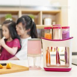 Sprzedaż hurtowa wycisnąć sok stacji żywności dla niemowląt Organination pojemniki do przechowywania dziecko robot kuchenny zest