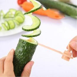1 sztuk marchew Krajalnica spiralna kuchnia warzyw modele do krojenia nóż do ziemniaków akcesoria kuchenne gadżety domowe Krajal