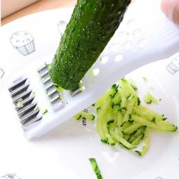 Urijk ogórek krajalnica kuchenne narzędzia rozdrabniacz do gałęzi, rębak do ser owoce marchew Cutter tarka współczesna rodzina n