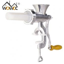 WOWCC instrukcja maszynka do mielenia mięsa maszynka do mielenia mięsa ze stopu aluminium ze stopu aluminium makaron maszyna do