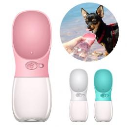 Przenośna butelka wody dla psa dla małych i dużych psów podróży Puppy kot miska do picia na świeżym powietrzu dozownik wody dla
