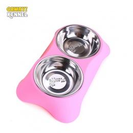 Hodowla CAWAYI karmnik dla psa miski do picia dla psów koty miska na karmę dla zwierząt comedero perro miska dla psa gamelle chi