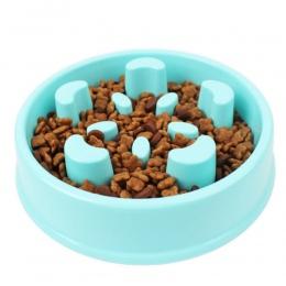 Zabawa podajnik miska pies powolne jedzenia Bloat Stop płyty żywności labirynt interaktywne Puzzle kot Anti Skid dania taca domu