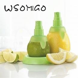 2 sztuk/zestaw zielona cytryna opryskiwacz owoców sok owoców cytrusowych wapno sokowirówka Spritzer gadżety kuchenne Spray ręczn