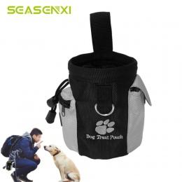 Przenośny zwierzęta pies zestaw do trenowania psa posłuszeństwo psów szkolenia Agility szkolenie torby na prezent odpinany Pup p