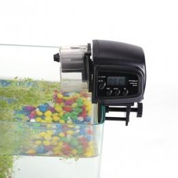 Automatyczny podajnik karmy dla ryb do akwarium Fish Tank automatyczny podajnik z zegarem dozownik do karmienia zwierząt LCD wsk