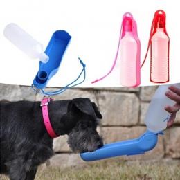 Pies podróży Sport butelka wody na zewnątrz paszy do picia butelka Pet dostaw przenośne picia butelka Pet dostaw przenośny produ