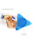 Pies lizanie Pad do kąpieli dla psów Buddy karmniki dla zwierząt wolno kot traktuje mata dla zwierząt domowych dozowania Mat Pet