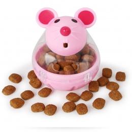 Wysokiej jakości śliczne karmnik dla zwierząt dla zwierząt pies kot interaktywny IQ miska dla zwierząt zabawki w kształcie jedze