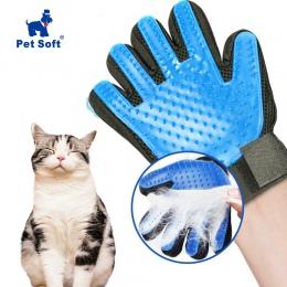 Zwierzęta domowe są miękki silikonowy pies Szczotka do zwierząt rękawice szczotka do pielęgnacji dla zwierząt domowych rękawica