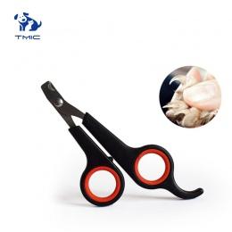 Moda styl Multi-kolory zwierzęta pies koty ptasie pazury ze stali nierdzewnej do pielęgnacji obcinacz do paznokci nożyczki pies