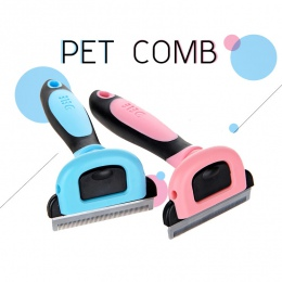 Grzebienie do usuwania włosów dla psów grzebienie dla kotów narzędzia odpinany maszynka do strzyżenia do przycinania grzebienie