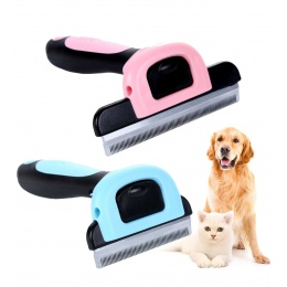 Grzebienie do usuwania włosów dla psów grzebienie dla kotów narzędzia Pet odpinany maszynka do strzyżenia do przycinania grzebie
