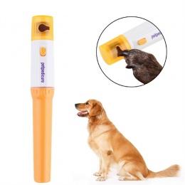 Bezbolesne elektryczne paznokcie zwierząt domowych Clipper Pet psy koty Paw obcinacz do paznokci cięcia zwierząt domowych szlifo