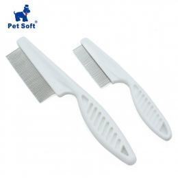 Zwierzęta domowe są miękkie zwierząt pielęgnacja grzebień ochrony szczotka na pchły na kot pies do włosów dla zwierząt domowych