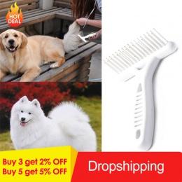 Dla zwierząt domowych prowizji szczotka grzebień krótki długi grube włosy futra rzuca usunąć kot pana młodego, pies, szczeniak,