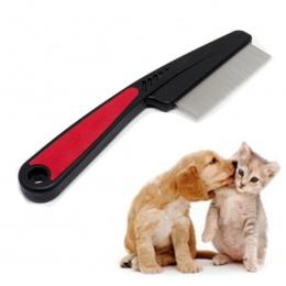 15 cm szczotka dla psa szpilka ze stali nierdzewnej szczotka grzebień dla psów koty plastikowy uchwyt szczotka do włosów dla psó