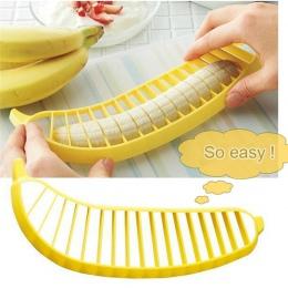 Gadżety kuchenne plastikowe bananowe krajalnica nóż owoce warzywa narzędzia sałatka ekspres narzędzia kuchenne kuchnia cięcia ba