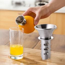 Instrukcja ze stali nierdzewnej wyciskacz do cytryny pomarańczowy sokowirówka owoce warzywa narzędzia kuchenne gadżety akcesoria