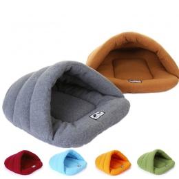 Ciepłe zimowe kapcie styl pies łóżka zwierzęta domowe dom pies piękny miękki nadaje się kot pies łóżko dom dla zwierząt domowych