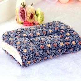 Dobrej jakości dla psa poduszka dla kota koc oddychająca poduszka dla zwierząt domowych łóżko dla psa i kota miękka ciepła mata