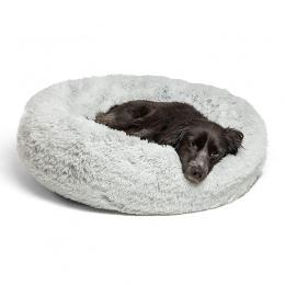 Ciepły polar łóżko dla psa 7 rozmiary okrągłe zwierzęta domowe są krzesło poduszki dla małych średnich dużych psów i kot zima bu