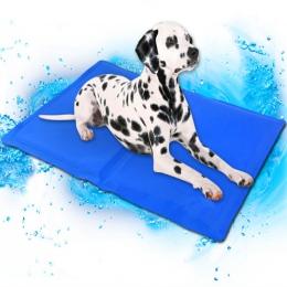 Pies mata chłodząca Pet Ice Pad Teddy materac zwierzęta domowe są mata chłodząca łóżko dla kota poduszki lato zachować zimną kre